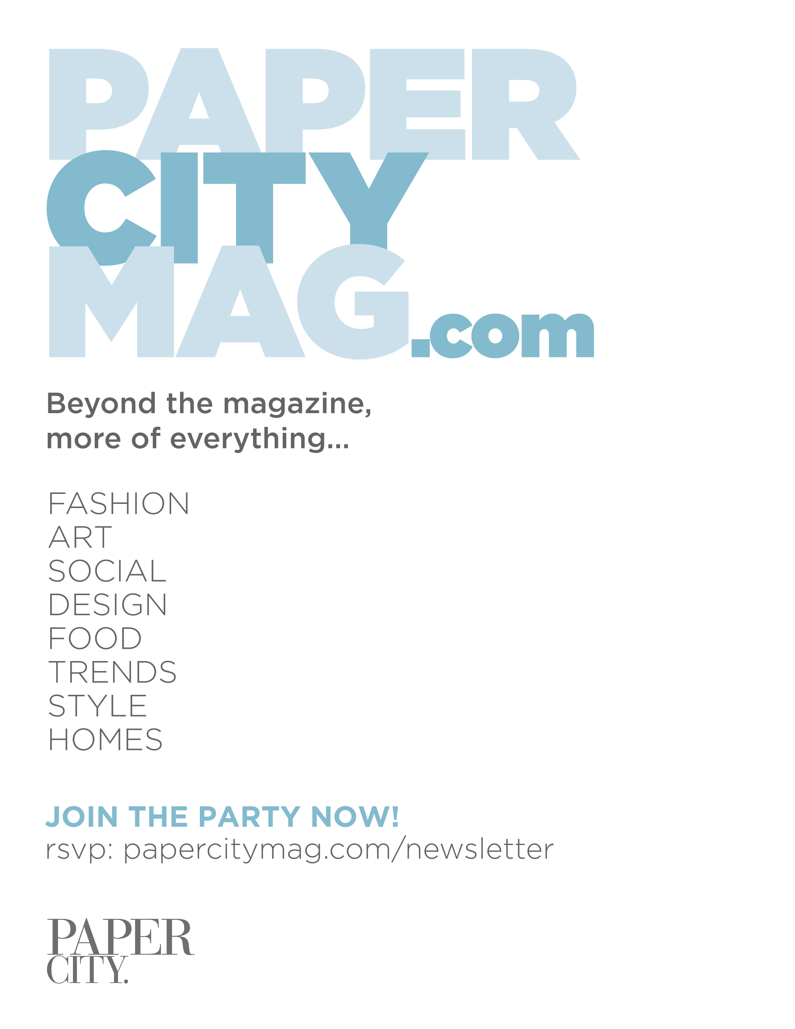 advertising papercity magazine papercity papercitymag com