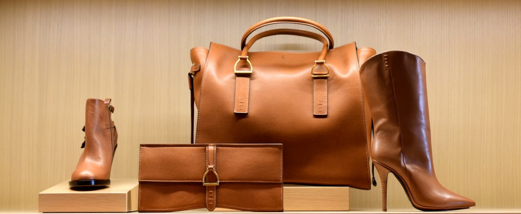 Leather accessories from the new Lucchese collection.
