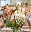 Define Devotees Get Wined and Dined <br />at Supper Club