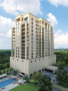 Houston's newest high-rise — 6300 Woodway — wants to bring a homey feel to the sky. You can move in in 2018.