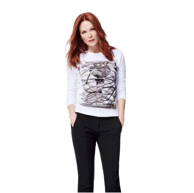 Beloved Shopping Weekend Gets a Hot Kickoff: Julianne Moore-Modeled Shirts Power Benefit