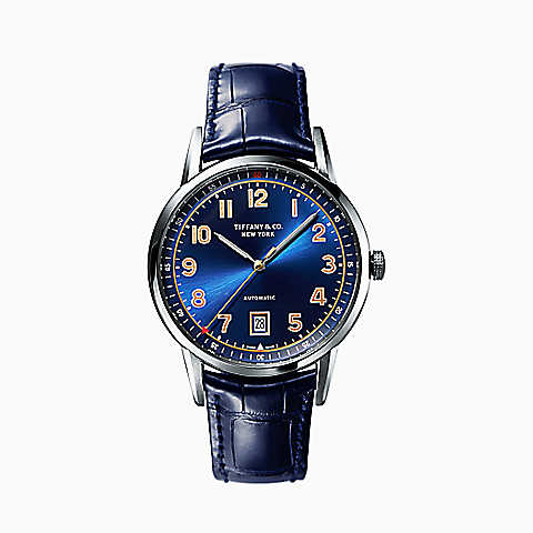 A watch for the discerning man. (Courtesy Tiffany & Co.)