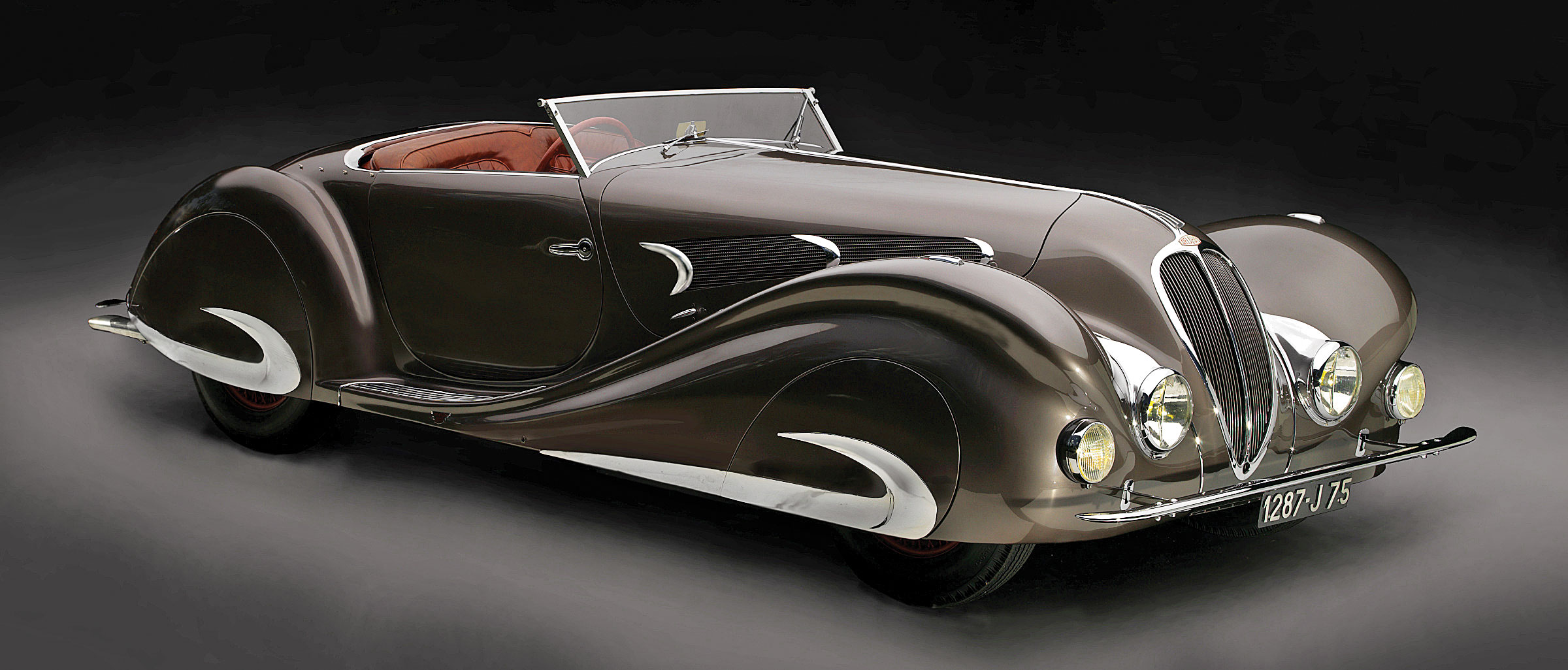 Bodywork designed by Figoni & Falaschi, Delahaye, 135MS Roadster, 1937