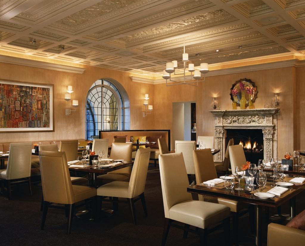 The Mansion Restaurant at the Rosewood Mansion on Turtle Creek. Photo Courtesy of The Rosewood Mansion on Turtle Creek.