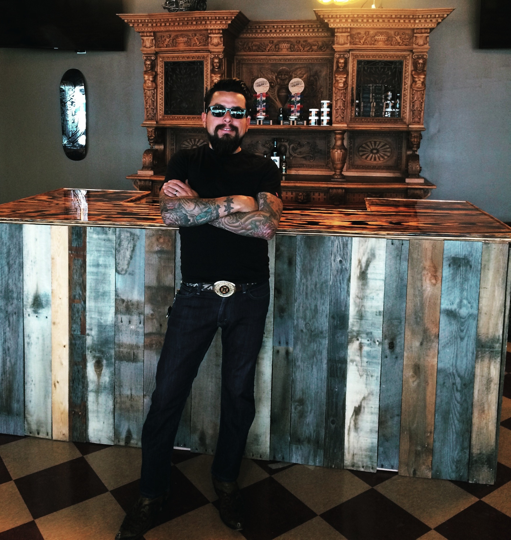 Man Cave Clothing Store : Dallas ultimate man cave a trendy barber shop creates