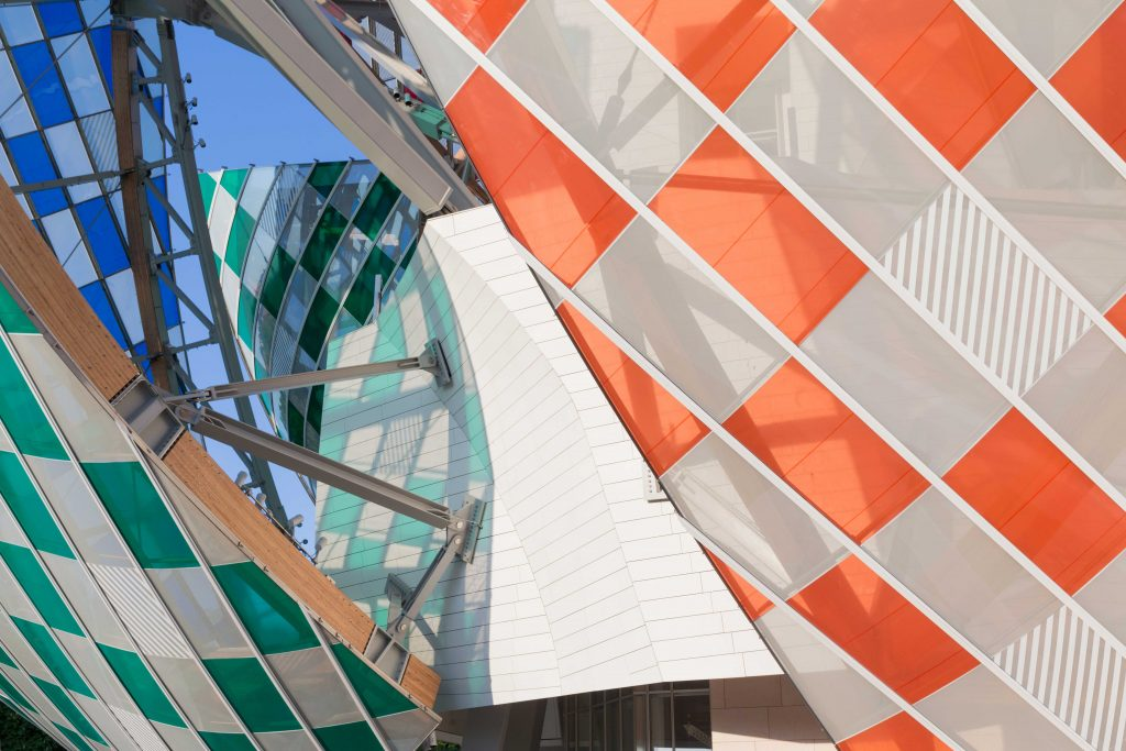 "Daniel Buren's ""The Observatory of Light"" at the Fondation Louis Vuitton"