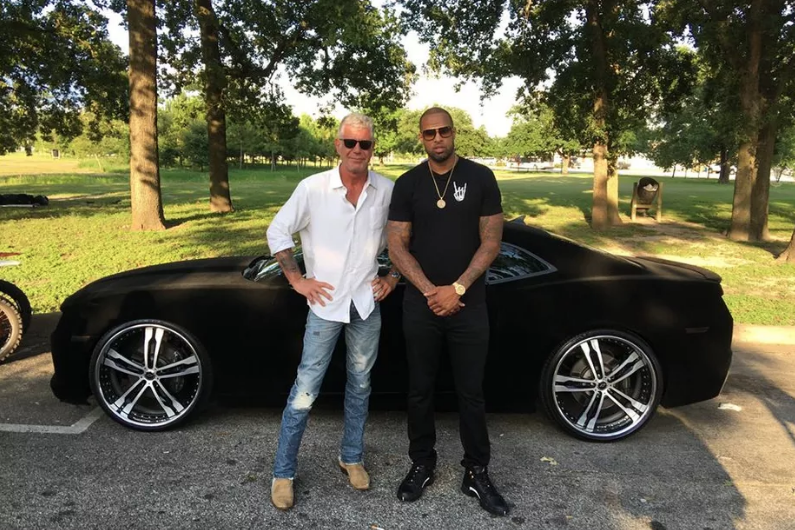 Anthony Bourdain with rapper Slim Thug on the Houston episode of Parts Unknown.