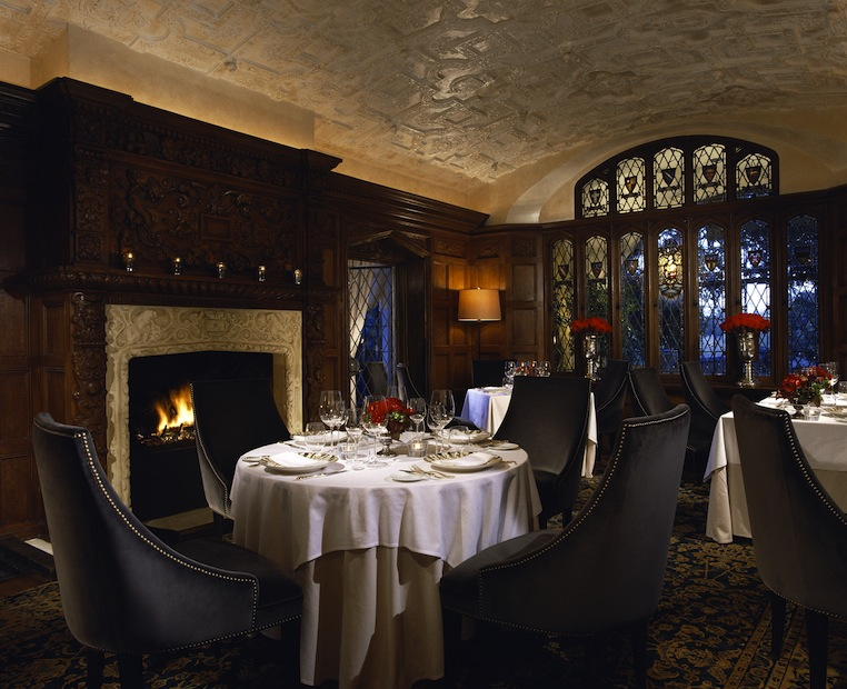 The Library at The Mansion Restaurant. Photo courtesy Rosewood Mansion on Turtle Creek.