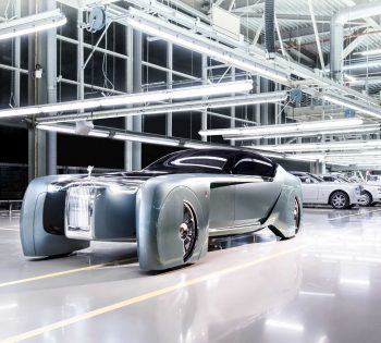 The Car of the Future is Here: This Self-Driving Rolls-Royce Turns Heads, Replaces Seats with a Sofa