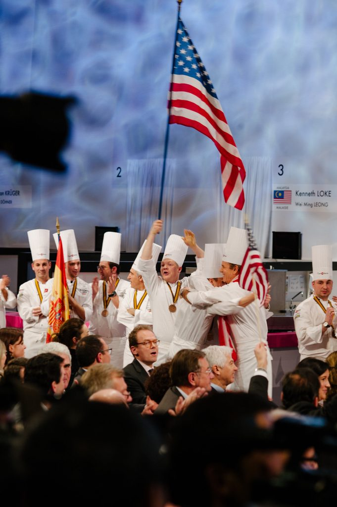 Team USA at Bocuse d'Or, 2015