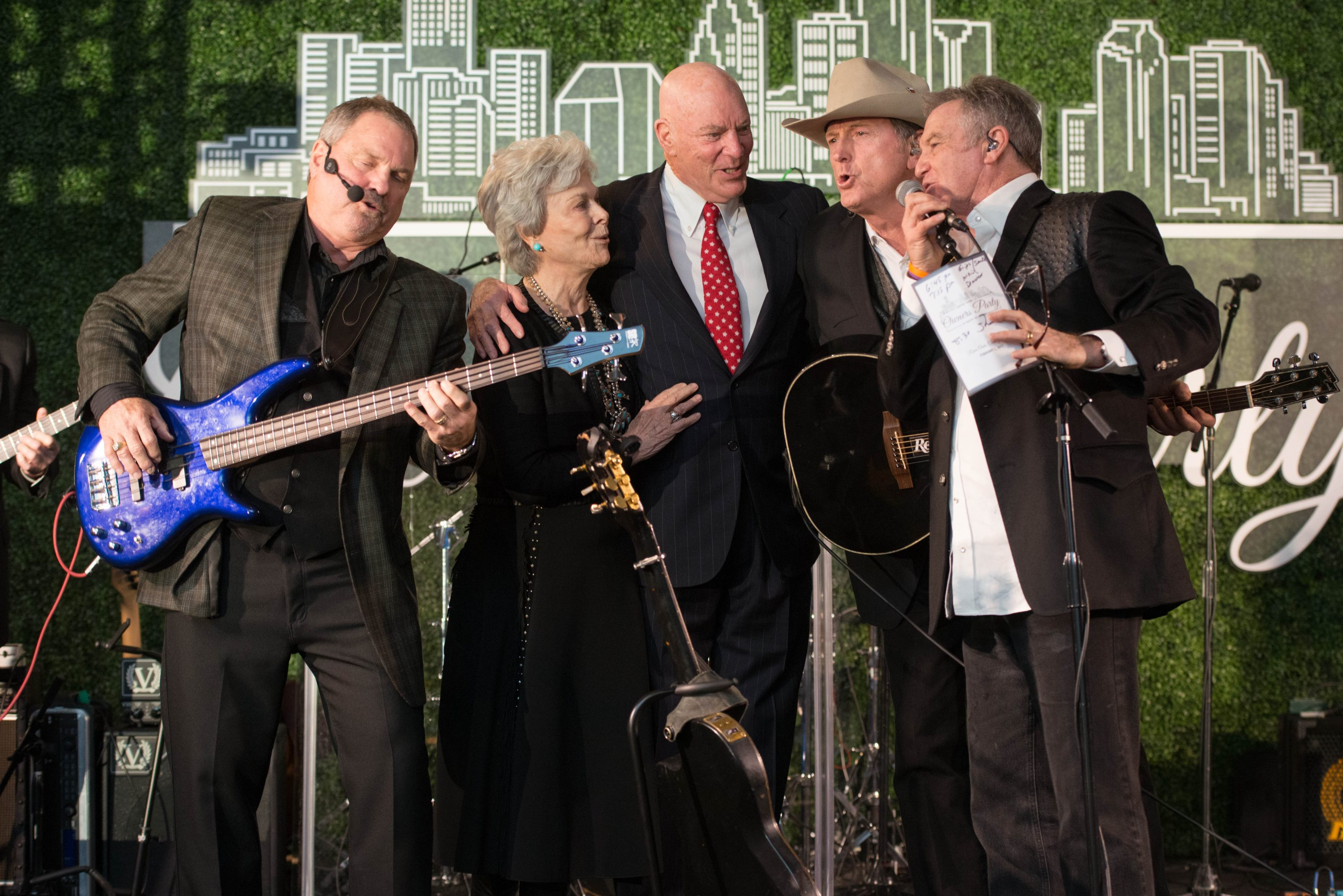 Robert and Janice McNair host the Super Bowl LI Owner Party at the River Oaks Country Club with special performances by the Gaitlin Brothers and Clay Walker