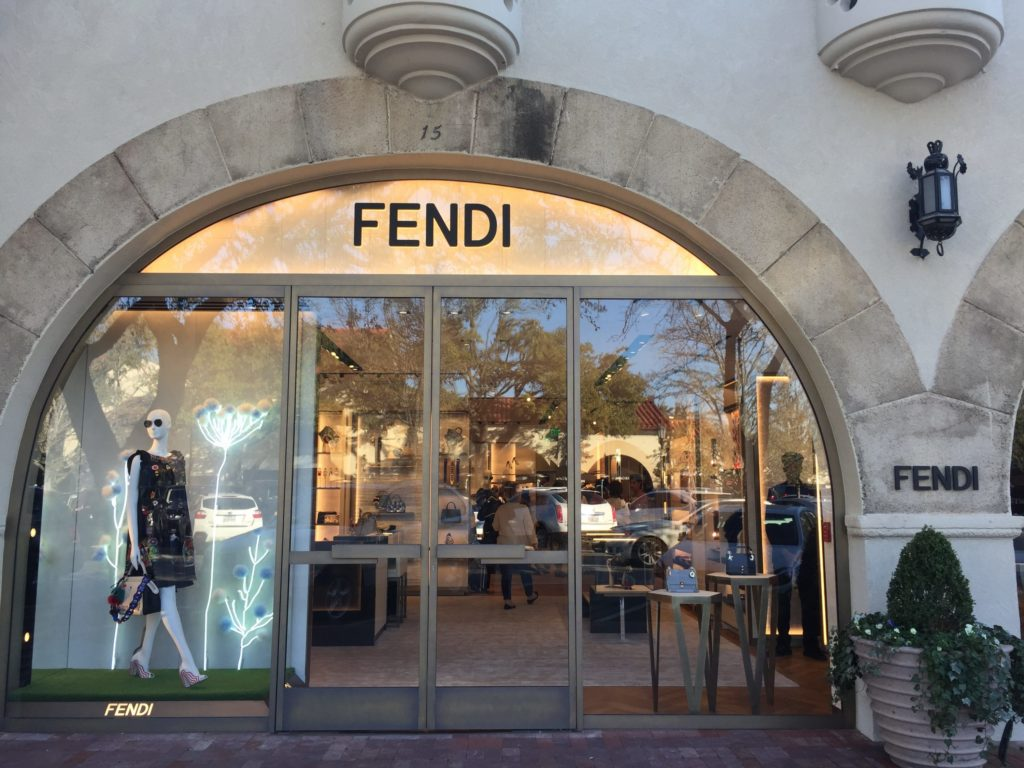 Highly Anticipated New Italian Luxury Store Opens in Highland Park Village: Fendi Fever is Real