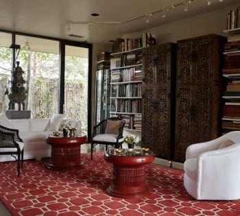 Dallas' Secret House of Love: After His Partner's Death, a Famed Designer Makes Their Dream Home Live On