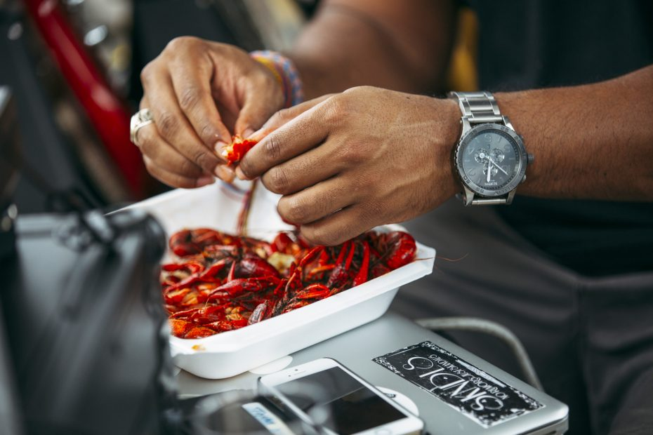 Houston crawfish season is here, and it features everything from new specials to crawfish-centric events like the Crawfish and Brews celebration at 8th Wonder Brewery. (Photo courtesy crawfishandbrews.com)