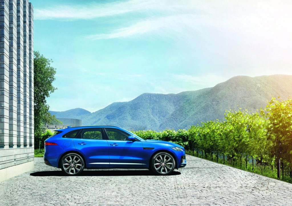 The F-Pace is Jaguar's sports car performance crossover.
