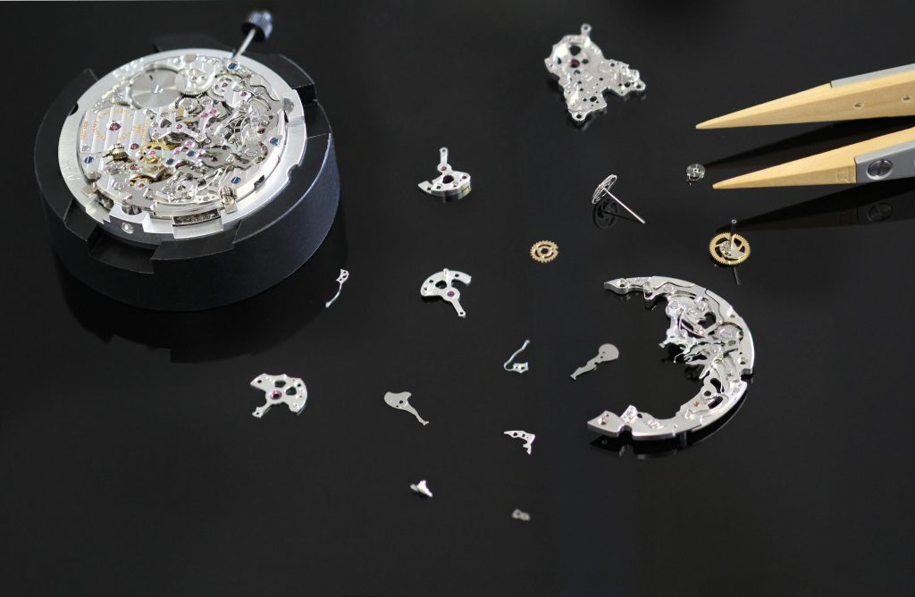 Fabergé Visionnaire Chronograph Moving Parts