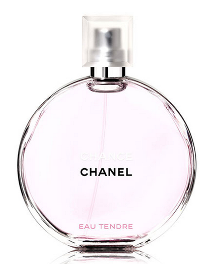 Chanel's Chance eau Tendre fragrance, $80 to $130
