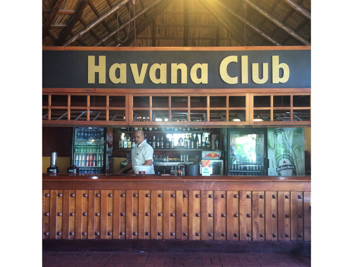 Bar at the Havana Club