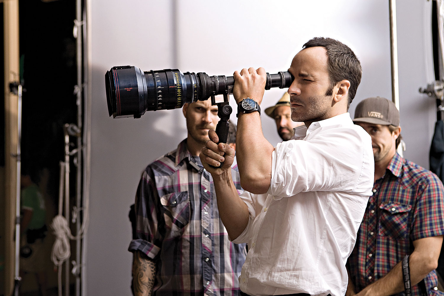 335893c82eed Tom Ford takes control on the set of his 2009 film A Single Man.