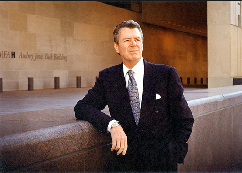 The late Peter Marzio is arguably the museum director that Maxwell L. Anderson most resembles, with his broad world-view vision and eagerness to spend big money on new initiatives. (Photo courtesy MFAH)