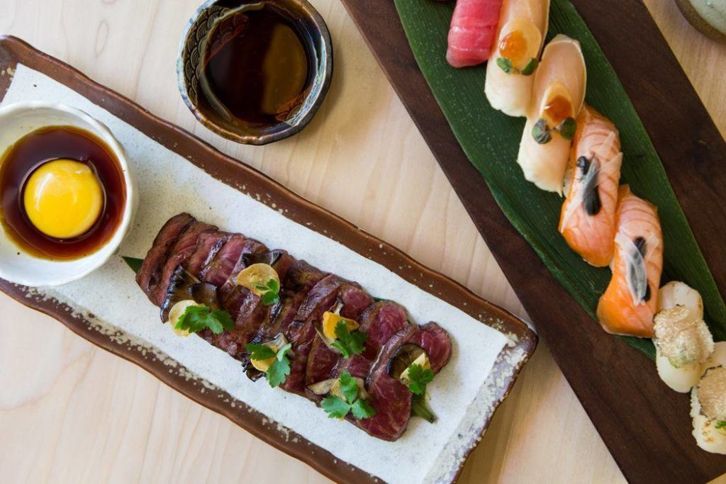 Having a restaurant with the buzzy draw of Roka Akor helps 2929 Weslayan stand out.