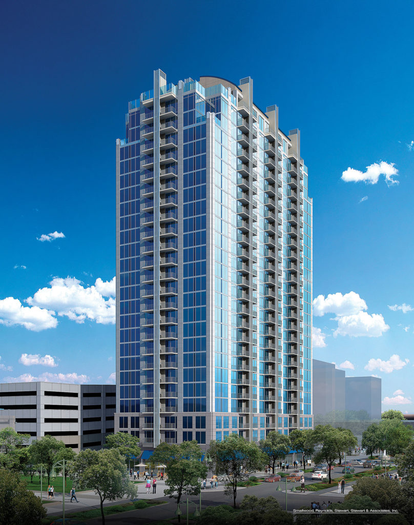 SkyHouse River Oaks is the first high-rise to open near River Oaks District.
