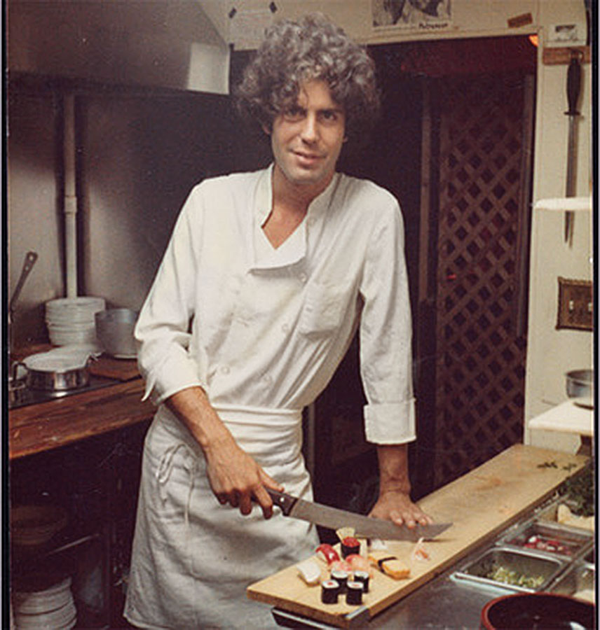 yes anthony bourdain really is that cool a close encounter with a food rock star chest baring. Black Bedroom Furniture Sets. Home Design Ideas
