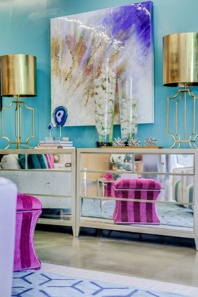 Room vignette created by Shey Geyer of IBB Design Fine Furnishings