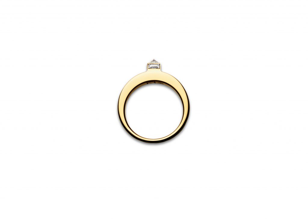 Stepped Diamond Eclipse Ring, $4,215