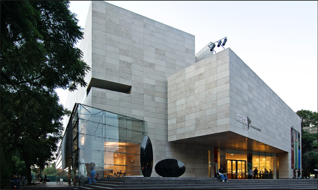 The MALBA Foundation in Buenos Aires was a key post for Dr. Arteaga who served as its founding director from 2000 to 2002, and oversaw the building's construction and its $30-million campaign. (Photo www.torredeco.com.ar)