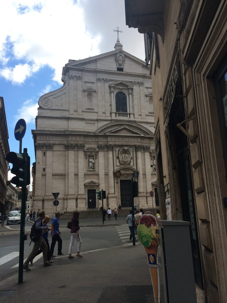 The Gesu, in Rome, is a church that displays the wealth and power of the Jesuits.