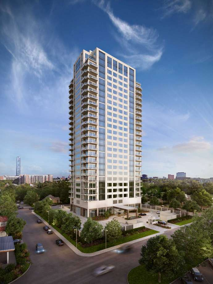 A new 26-story high-rise, dubbed Villa Borghese, will rise in River Oaks.