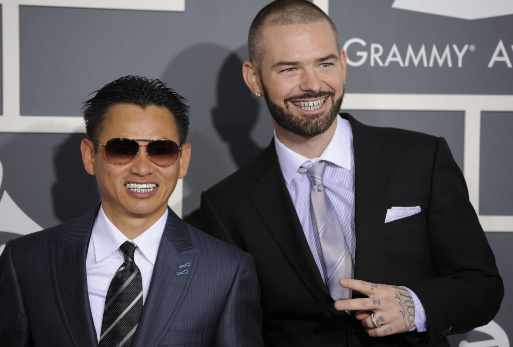 Johnny Dang with business partner and rapper Paul Wall