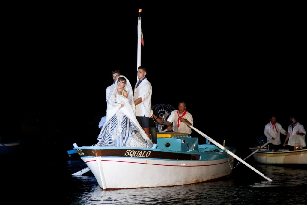 Grammy Award-winning soprano Sumi Jo's nautical entrée