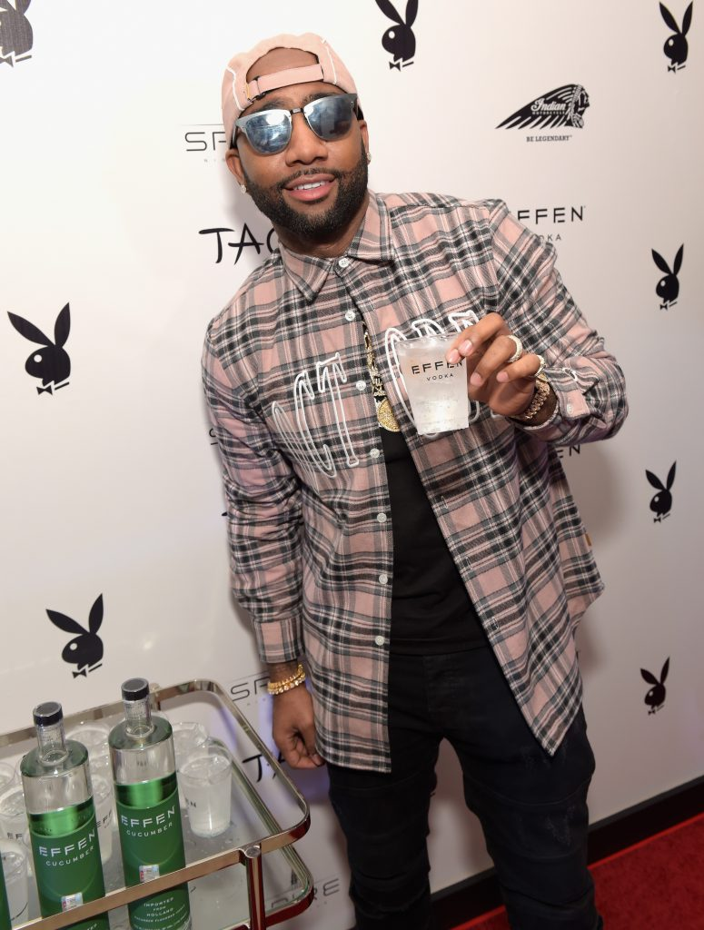 HOUSTON, TX - FEBRUARY 04:  Entrepreneur Jas Prince celebrates with EFFEN Vodka at the Playboy party with TAO at Spire Nightclub on February 4, 2017 in Houston, Texas.  (Photo by Jason Kempin/Getty Images for Playboy)
