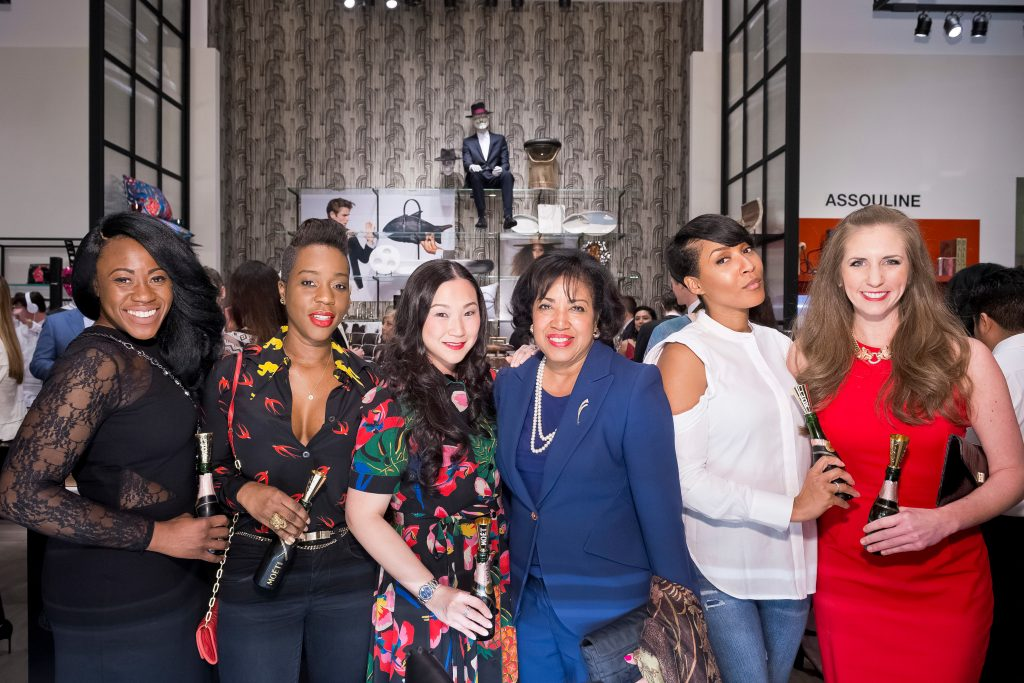 Benitta Phillips, Nene Soumare, Sharon Torres,Vicky Bailey, Megan  Bailey, Lauren Tankersley Encore After Party Kickoff at Forty Five Ten