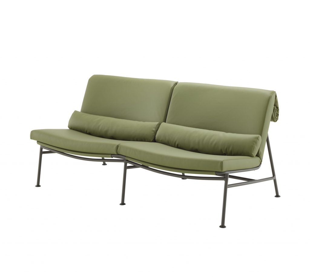 Backpack sofa by Lucini Pevere, from Ligne Roset