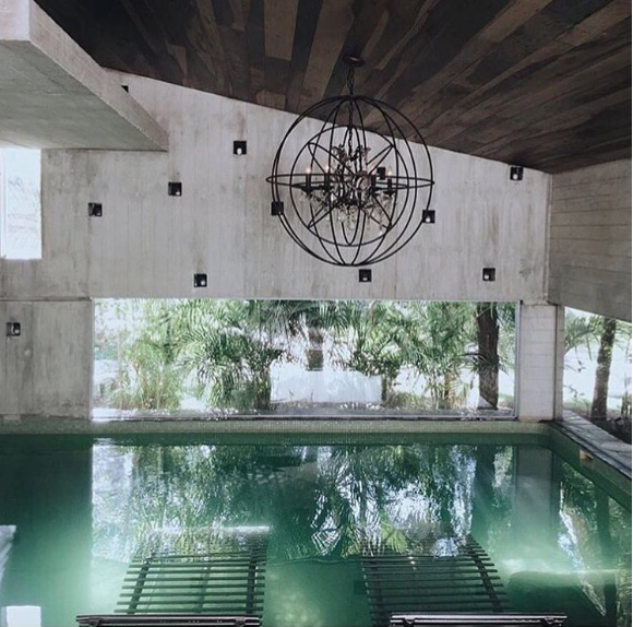 Yaan Wellness Center offers ancient Mayan treatments in ultra modern facilities. Photo from Instagram.