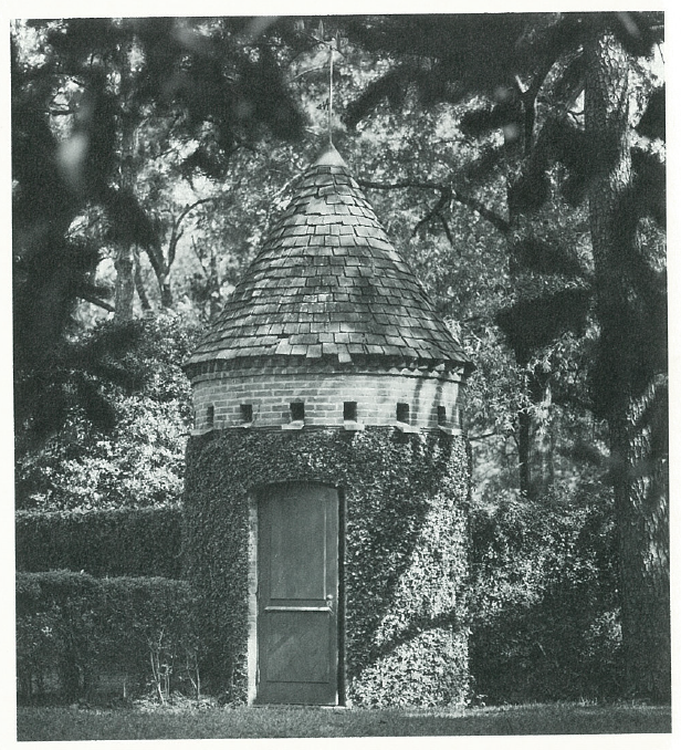 A dovecote once added old-world charm to the property.