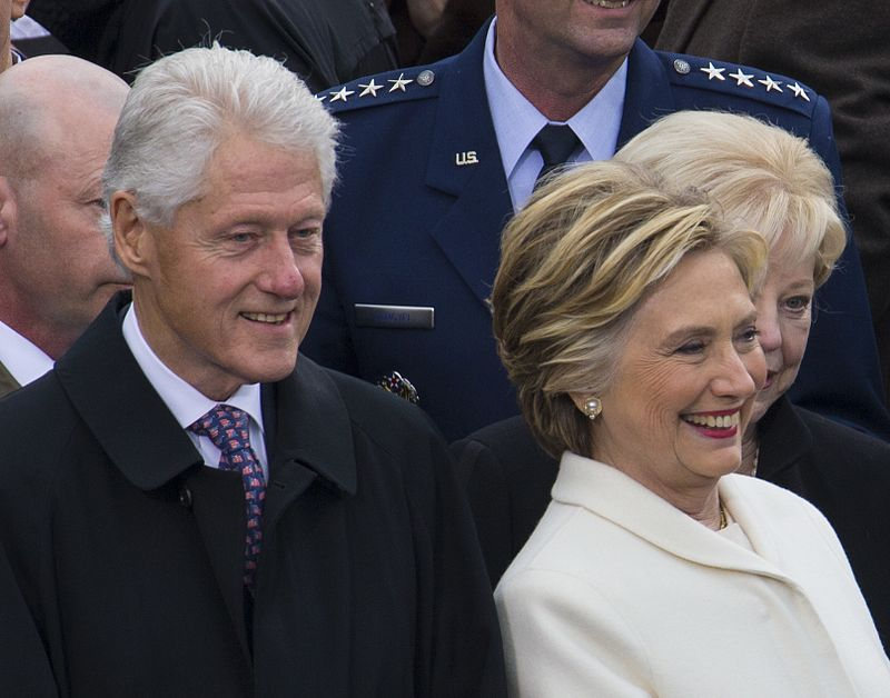 The Clintons will speak and do a Q&A at the Irving Music Factory this November.