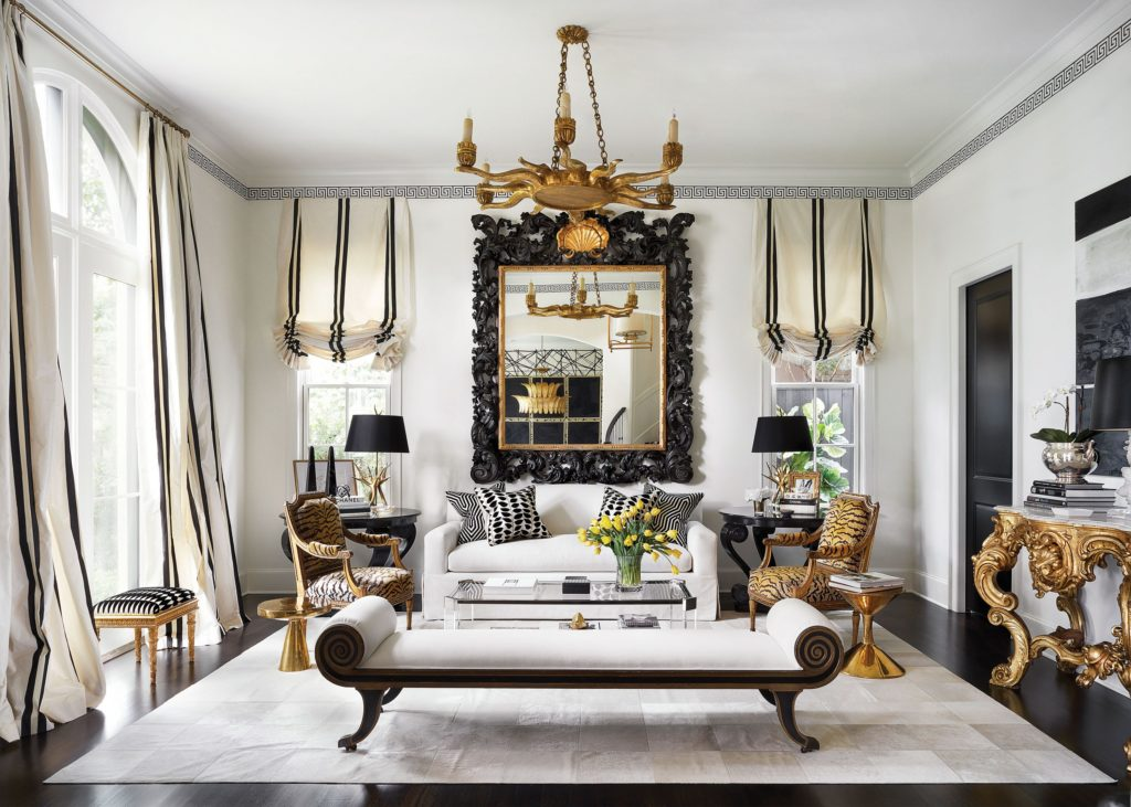 The Living Room, French Regency Style Daybed From Moxie. Mitchell Gold +  Bob Williams