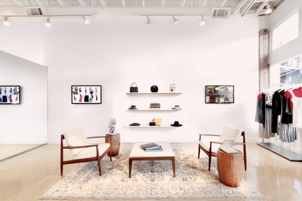 Reformation on Henderson carries an assortment of accessories from other like-minded brands.