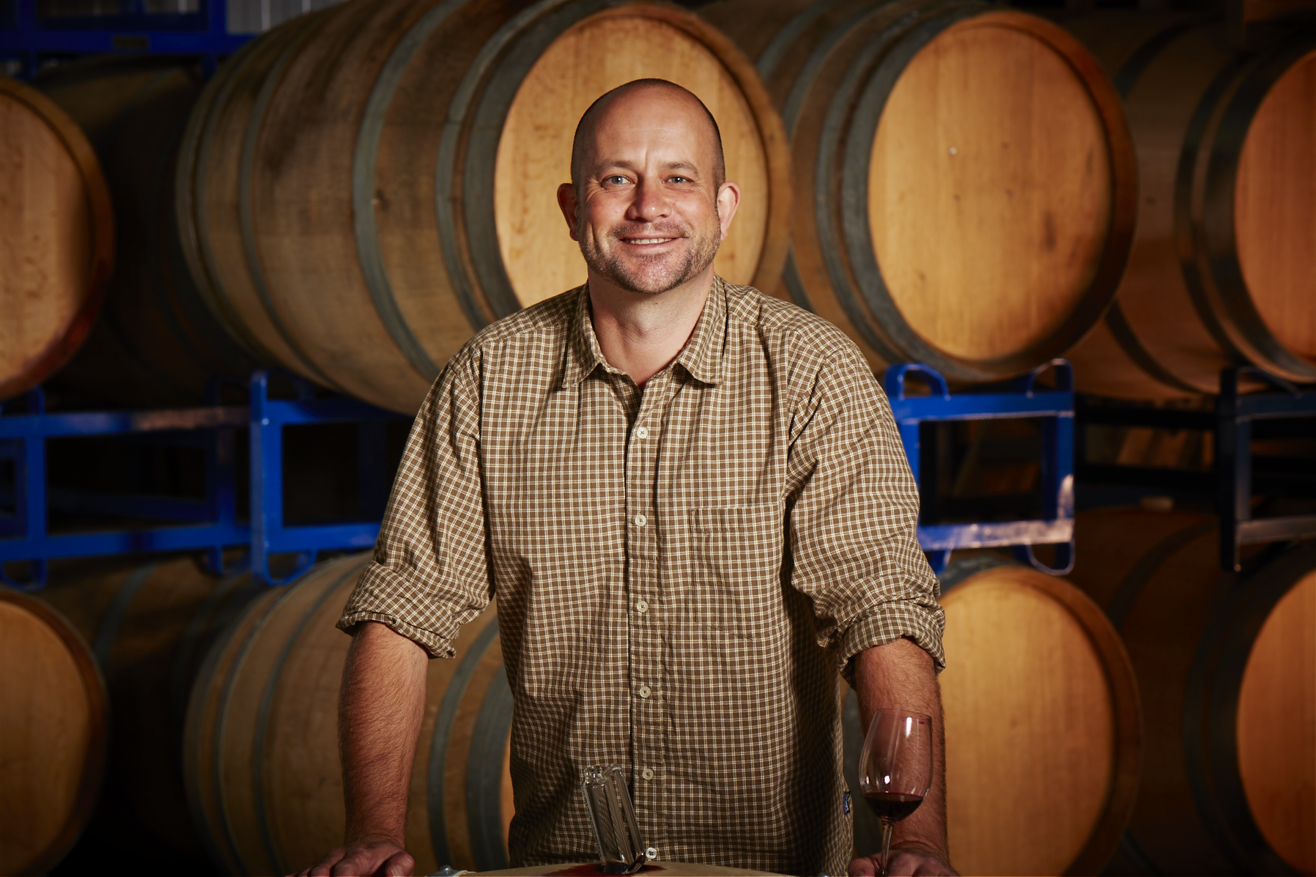 An Englishman in California: Jim Close, winemaker at Gamble Family Vineyards (Courtesy Terroirist)