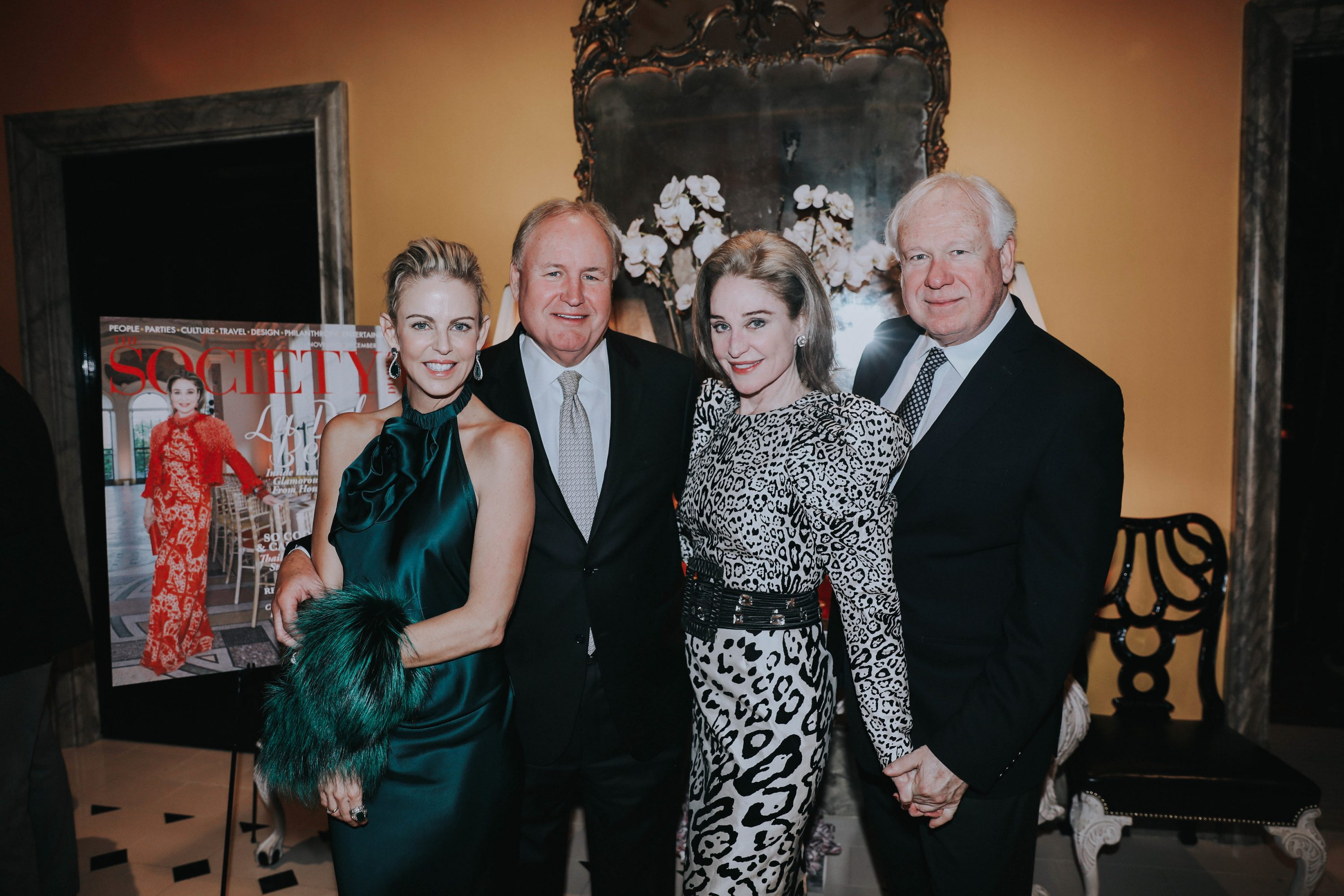 Society Diaries party for Becca Cason Thrash at Elizabeth & Gary Petersen
