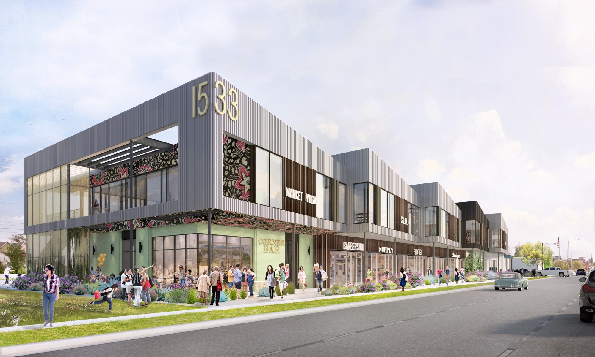 Market at Houston Heights, opening mid-2019, will be a lifestyle destination for dining, shopping, and more.