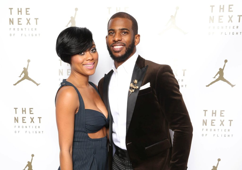 Chris Paul credits his wife, Jada Crawley, with finding their Houston dream home.