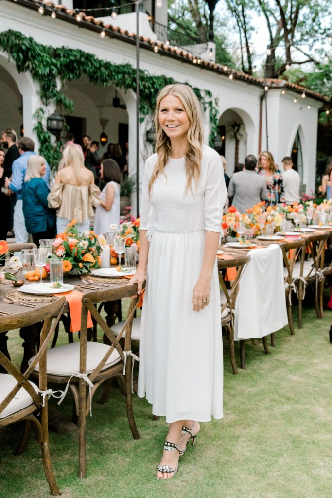 Gwyneth Paltrow Throws an Intimate Dallas Dinner Party at ...