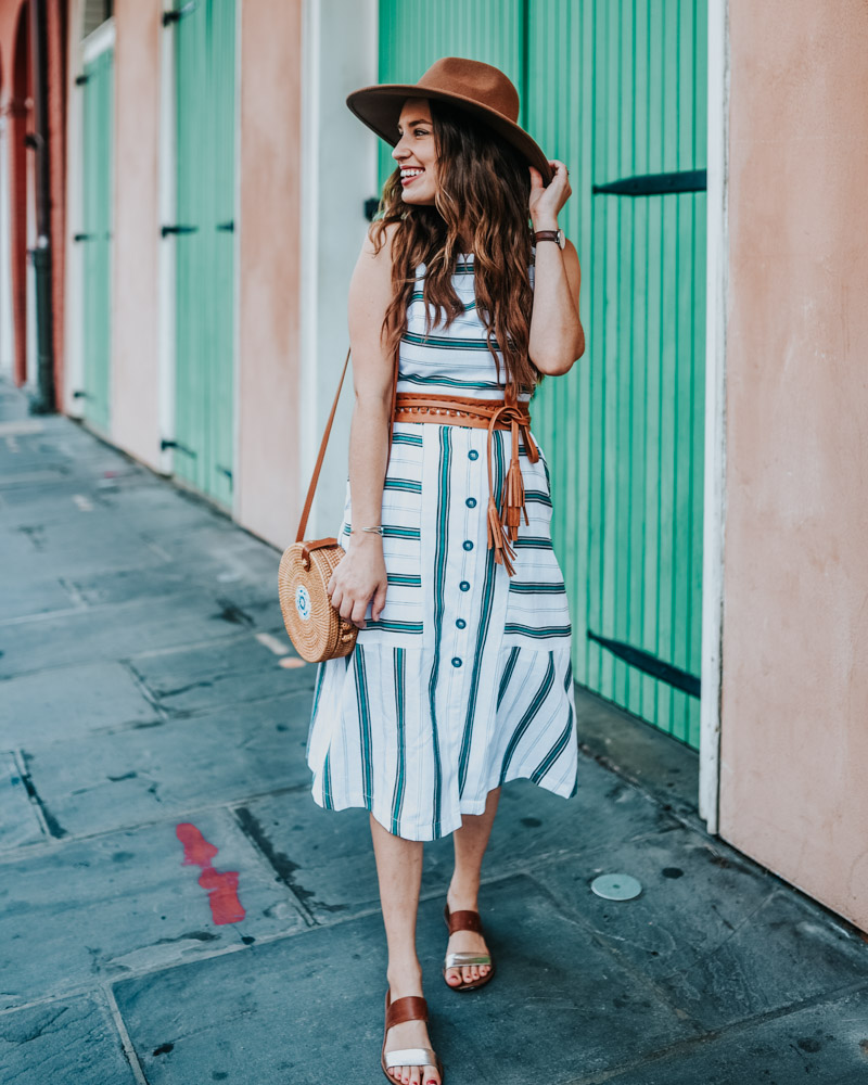 2352781706fa Dallas blogger Alice Kerley knows that hats make a stylish (and practical)  summer difference