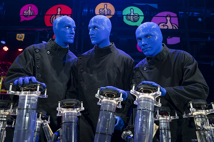 Blue Man GroupSpeechless
