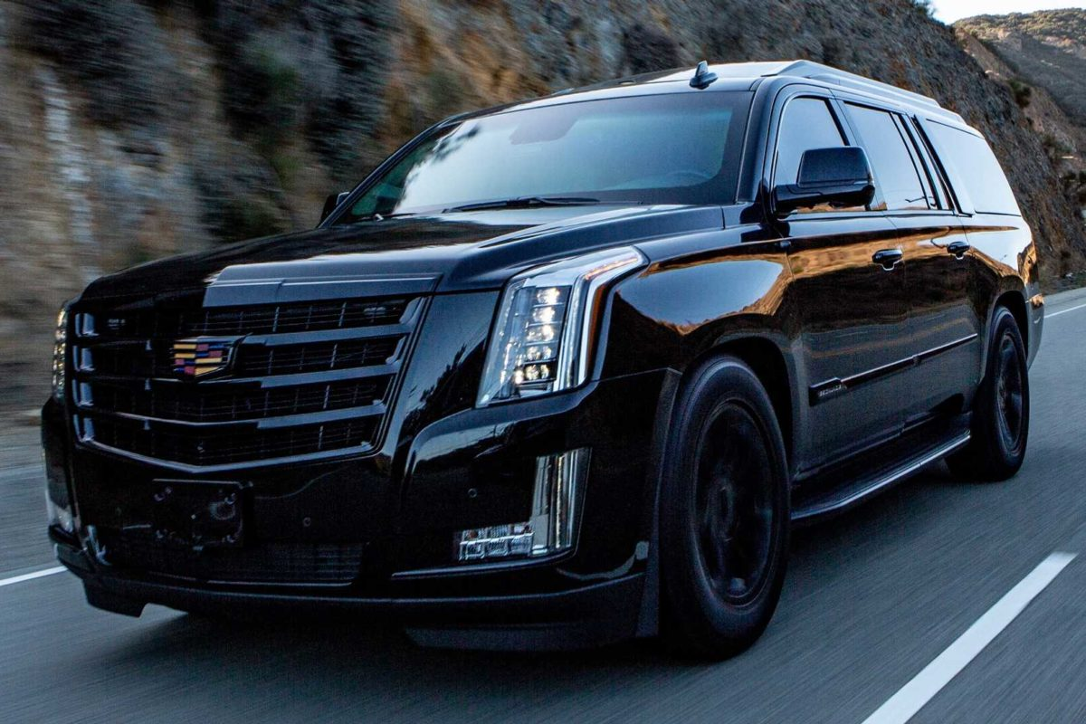 Bulletproof Cadillac Escalade With Private Jet Interior ...